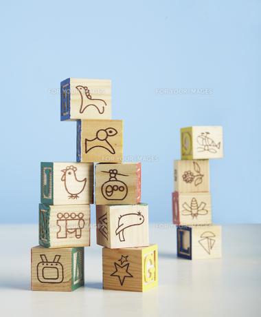 Wooden Toy Blocksの素材 [FYI00905226]