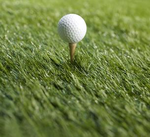 Golf Ball on Teeの素材 [FYI00905304]