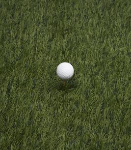 Golf Ball on Grassの素材 [FYI00905319]