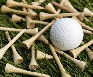 Golf Ball and Teesの素材 [FYI00905320]