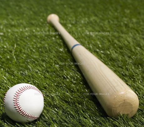 Baseball Bat and Ballの素材 [FYI00905327]
