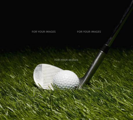 Golf Club and Ballの素材 [FYI00905363]
