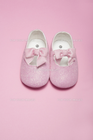 Pink Baby Shoesの素材 [FYI00905429]