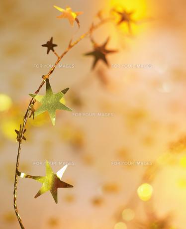Golden Star Decorationsの素材 [FYI00906254]