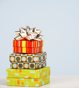 Stack of Gift Boxesの素材 [FYI00907051]
