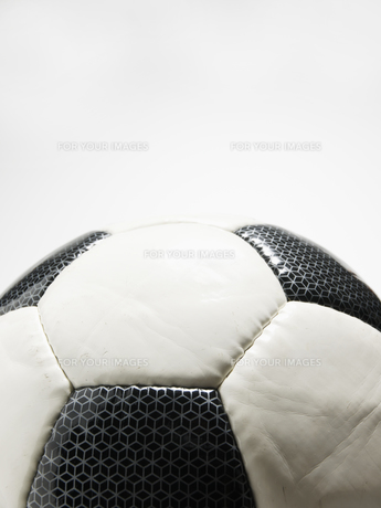 Close-Up of Soccer Ballの素材 [FYI00907208]