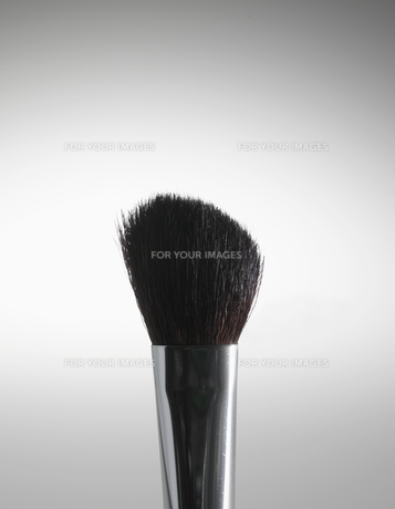 Close-Up of make-Up Brushの素材 [FYI00907226]