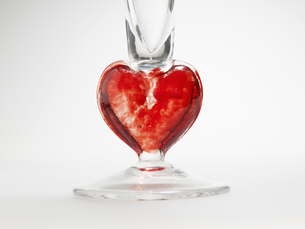 Decorative Glass with Heart Shapeの素材 [FYI00907240]