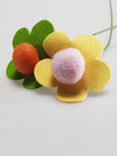 Felt Flowersの素材 [FYI00907292]