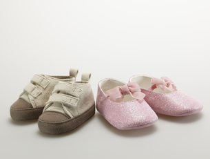 Two Pairs of Baby Shoesの素材 [FYI00907333]