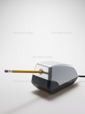 Pencil in Electrical Sharpenerの素材 [FYI00907336]