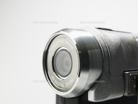Close-up of Video Camera Lensの素材 [FYI00907406]