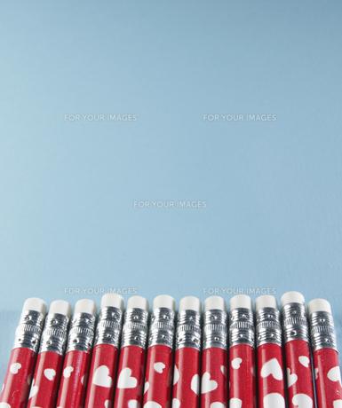 Row of Pencilsの素材 [FYI00907479]