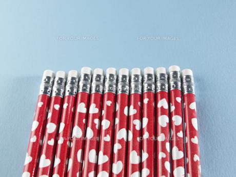 Row of Pencilsの素材 [FYI00907481]