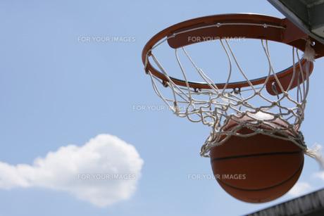 バスケットボールの素材 [FYI00909520]