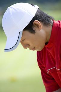 日本人男性ゴルファーの素材 [FYI00911239]