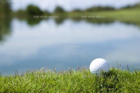 ゴルフボールの素材 [FYI00911249]