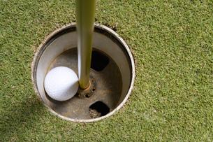 カップに入ったゴルフボールの素材 [FYI00911273]