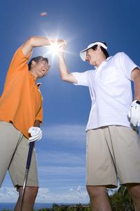日本人男性ゴルファーの素材 [FYI00911291]
