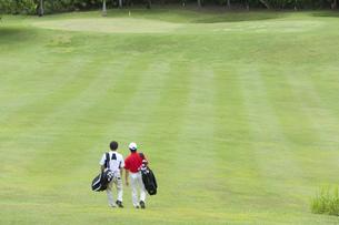 日本人男性ゴルファーの素材 [FYI00911301]