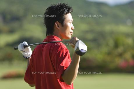 日本人男性ゴルファーの素材 [FYI00911306]