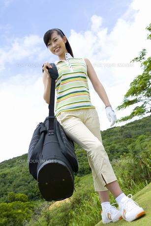 日本人女性ゴルファーの素材 [FYI00911307]