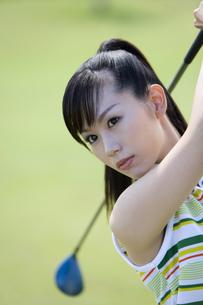 日本人女性ゴルファーの素材 [FYI00911321]