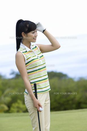 日本人女性ゴルファーの素材 [FYI00911327]