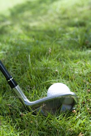 ゴルフクラブとボールの素材 [FYI00911330]