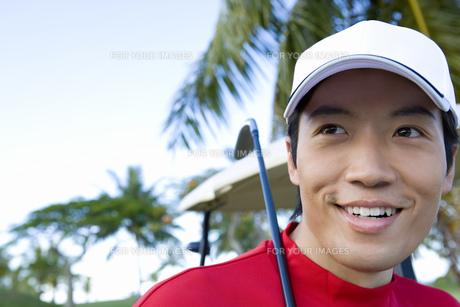 日本人男性ゴルファーの素材 [FYI00911336]