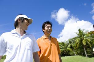 日本人男性ゴルファーの素材 [FYI00911338]
