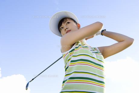日本人女性ゴルファーの素材 [FYI00911339]