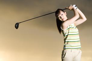 日本人女性ゴルファーの素材 [FYI00911350]