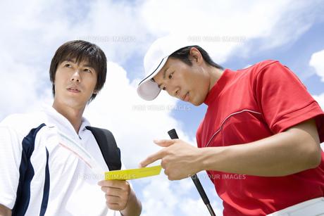 日本人男性ゴルファーの素材 [FYI00911363]