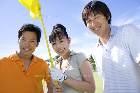 日本人男女ゴルファーの素材 [FYI00911395]