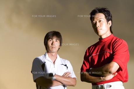 日本人男性ゴルファーの素材 [FYI00911403]