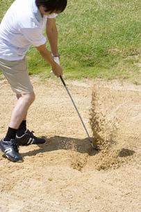 日本人男性ゴルファーの素材 [FYI00911404]