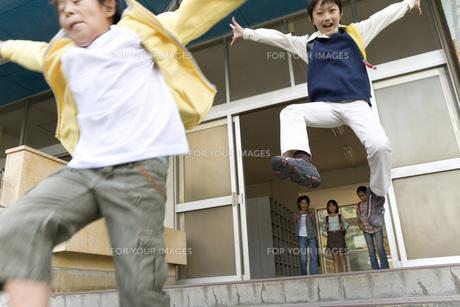 ジャンプの素材 [FYI00911437]
