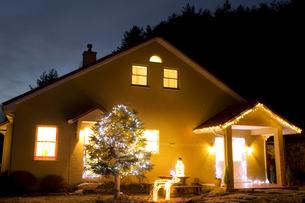 クリスマスデコレーションハウスの素材 [FYI00914744]