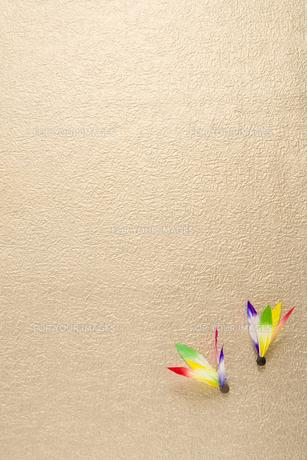 羽子板の羽の素材 [FYI00914777]