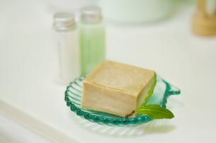 月桂樹のハーブ石鹸の素材 [FYI00914859]