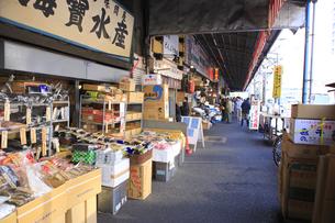 築地場外市場商店街のもんぜき通り付近の素材 [FYI00919780]