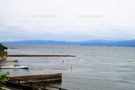 宍道湖の写真素材 [FYI00920855]