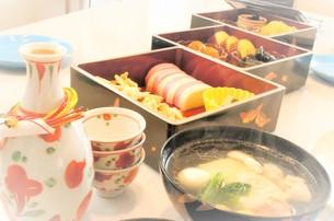 家庭のおせち料理の写真素材 [FYI00921127]