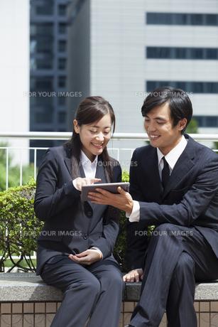 若い会社員の男女の写真素材 [FYI00921846]