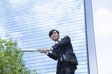 若い会社員の男性の写真素材 [FYI00921868]