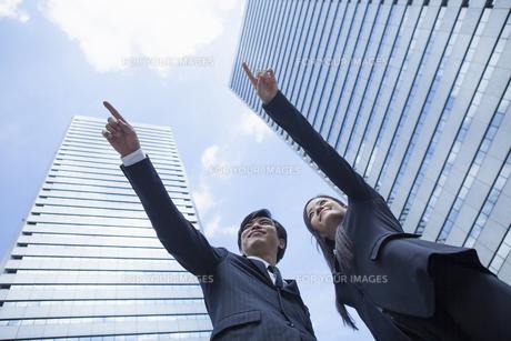 若い会社員の男女の写真素材 [FYI00921915]