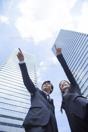 若い会社員の男女の写真素材 [FYI00921916]