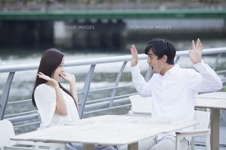 若い男女のカップルの素材 [FYI00921970]