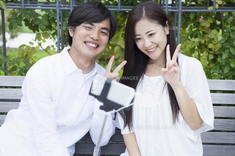 若い男女のカップルの素材 [FYI00922000]
